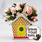 Mom's Blushing Birdhouse