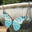 Catch Me If You Can Butterfly Necklace