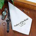 Personalized Men's Wedding Handkerchief