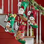 Personalized Holiday Presents Stocking