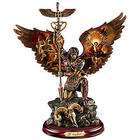 St. Raphael Merciful Healer Cold-Cast Bronze Sculpture