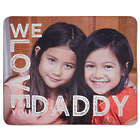 Custom Photo We Love Daddy Sherpa Blanket