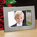 Official Ring Bearer Personalized Silver Picture Frame