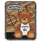 Baby's San Antonio Spurs Teddy Bear Throw Blanket