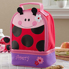 Ladybug Personalized Lunch Bag