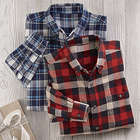 Set of Flannel Shirts