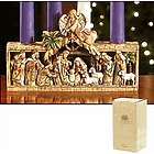 Holy Family Nativity Advent Candle Holder