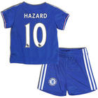 Eden Hazard Chelsea Home Color Baby Soccer Replica Jersey Set