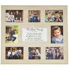 Personalized Family Memories Wooden Photo Frame