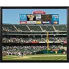 Oakland A's Personalized Scoreboard 16x20 Framed Canvas