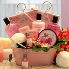 Pretty in Pink Relaxation Medium Gift Basket