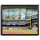 Personalized MLB Scoreboard Houston Astros 16x20 Framed Canvas