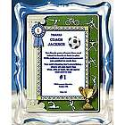Soccer Coach Personalized Framed Poem