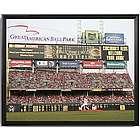 Personalized Cincinnati Reds Scoreboard Print