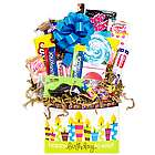 Happy Birthday to You Retro Candy Basket