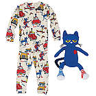 Pete the Cat Pajamas and Plush Toy Gift Set