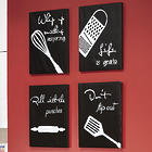 Kitchen Canvas Wall Art Set