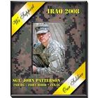 Yellow Ribbon Personalized Military Vertical Picture Frame