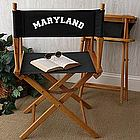 You Name It� Personalized Director's Chair in Black