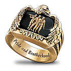 Veteran's Pride and Brotherhood Men's Ring