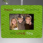My Little Ones Personalized Mini-Frame Ornament