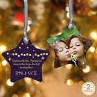 Friends Are Like Stars 2-Sided Personalized Christmas Ornament