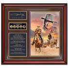 John Wayne: Life and Legacy Commemorative Wall Decor