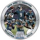 Super Bowl LII Champions Philadelphia Eagles Plate