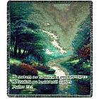 "Psalm 23 ""Petals of Hope"" Tapestry Memorial Throw"