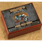 Personalized Biker Bar Cigar Humidor
