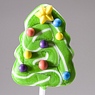 Christmas Tree Swirl Pops