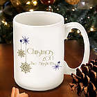 Personalized Evening Snowfall Mug