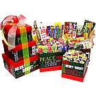Holiday Chalkboard Style Nostalgic Candy Gift Tower