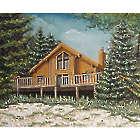 Full Color Custom 20x16 Home Portrait