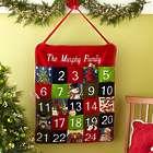 Personalized Needlepoint Advent Calendar