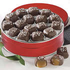 Chocolate Covered Sea Salt Caramels Gift Tin