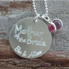 Mother of the Bride Personalized Necklace