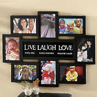 Live Laugh Love 4x6 Montage Frame