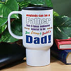 Personalized Special Dad Travel Mug