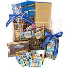 Golden Ghirardelli Chocolate Gift Basket