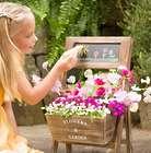Chalkboard Flower Garden