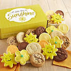 Decorated Cookies in Box of Sunshine