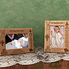 Personalized Baptism/Christening Day Wooden Picture Frame