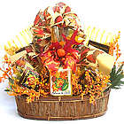 Autumn in Gold Fall Gourmet Gift Basket