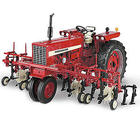 Farmall 544 Gas Narrow Front with Four-Row Cultivator Diecast