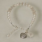 Engraved Bridal Party Bracelet