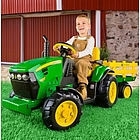 John Deere Ground Force Tractor with Trailer
