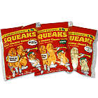 Squeaks Fresh Cheddar Cheese Curds Variety Pack