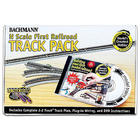 """N-Scale 47-Piece 30"""" First Model Railroad Track Pack"""