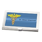 Personalized Medical Business Card Holder